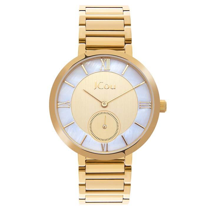 Γυναικείο ρολόι JCou Celine Gold bracelet JU16057-4 JU16057-4 Ατσάλι ρολόγια jcou