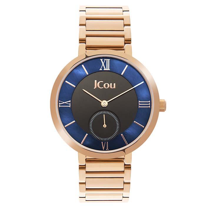 Ρολόι JCou Celine Rose gold JU16057-5 JU16057-5 Ατσάλι ρολόγια jcou