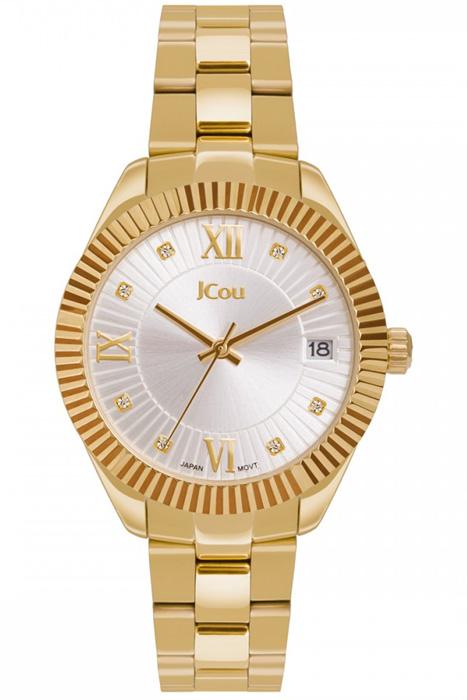 Ρολόι JCou Queen's Mid Gold Bracelet JU16058-3 JU16058-3 Ατσάλι