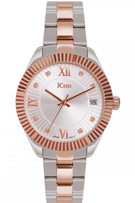 Γυναικείο ρολόι JCou Queen's Mid Bracelet JU16058-6 JU16058-6 Ατσάλι