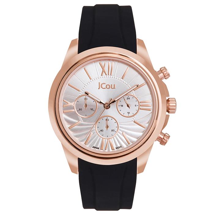 Ρολόι γυναικείο Jcou Southcoast II Black JU16059-3 JU16059-3 Ατσάλι