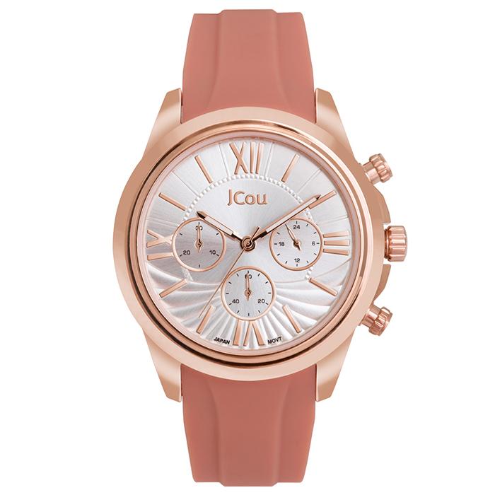 Ρολόι γυναικείο Jcou Southcoast II Pink JU16059-5 JU16059-5 Ατσάλι