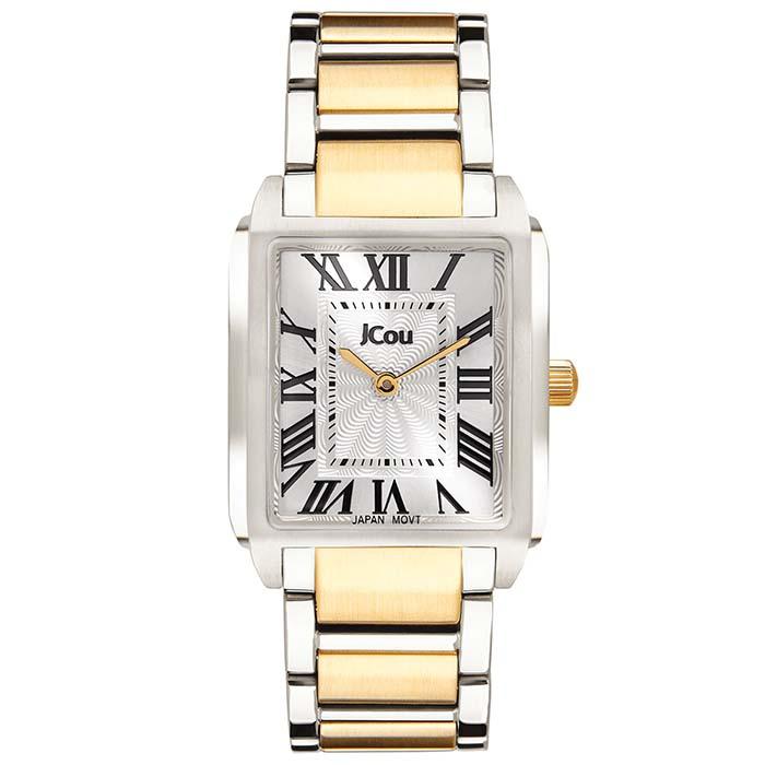 Ρολόι χειρός Jcou Bell Epoque two tone bracelet JU17020-2 JU17020-2