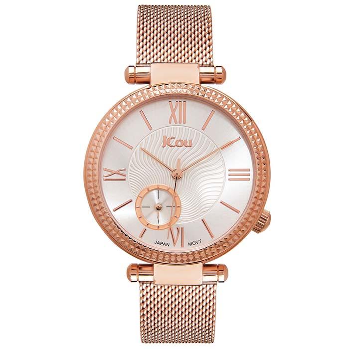 Γυναικείο ρολόι JCou Eclipse Rose gold Bracelet JU17021-2 JU17021-2 Ατσάλι