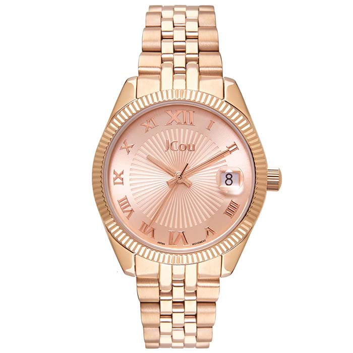 Ρολόι Jcou Queen's mini Rose gold JU17031-3 JU17031-3