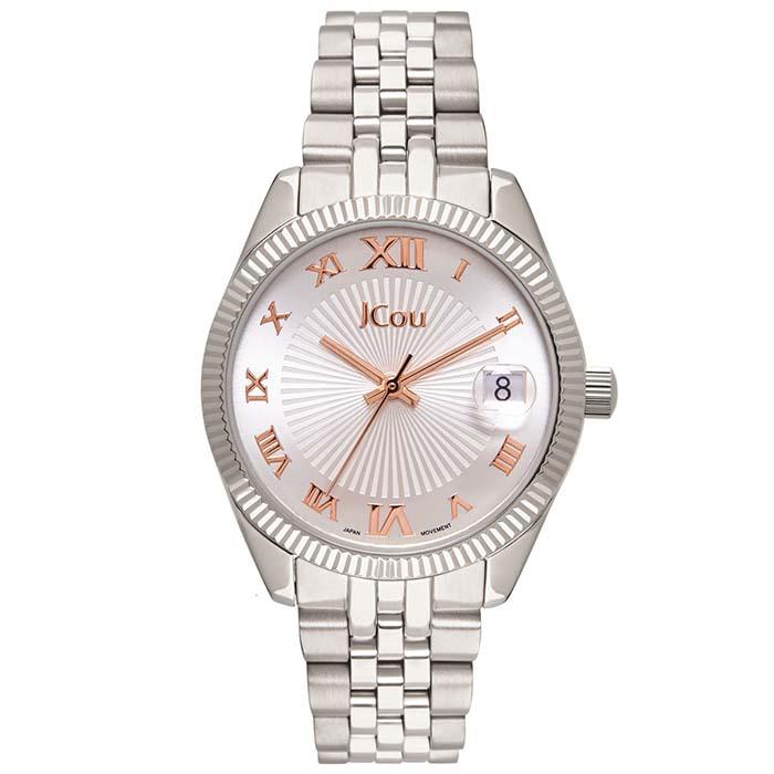Ρολόι Jcou Queen's mini Silver bracelet JU17031-5 JU17031-5