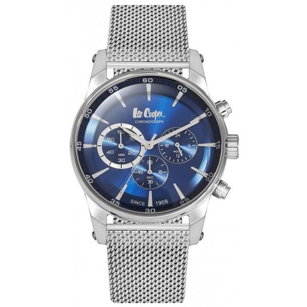 Lee cooper chronograph Silver bracelet LC06356.350 LC06356.350 Ατσάλι