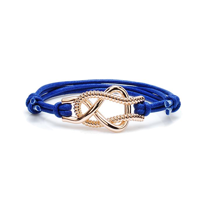 Βραχιόλι Κόμπος της Ελευθερίας Ros gold NA105R NA105R Ατσάλι fashion jewels nodiamo