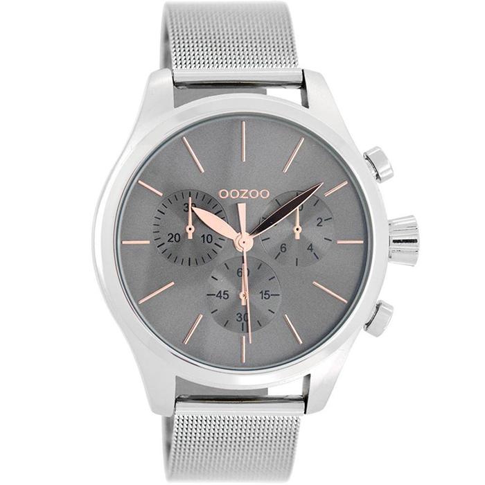Ρολόι γυναικείο OOZOO Silver bracelet C9098 C9098
