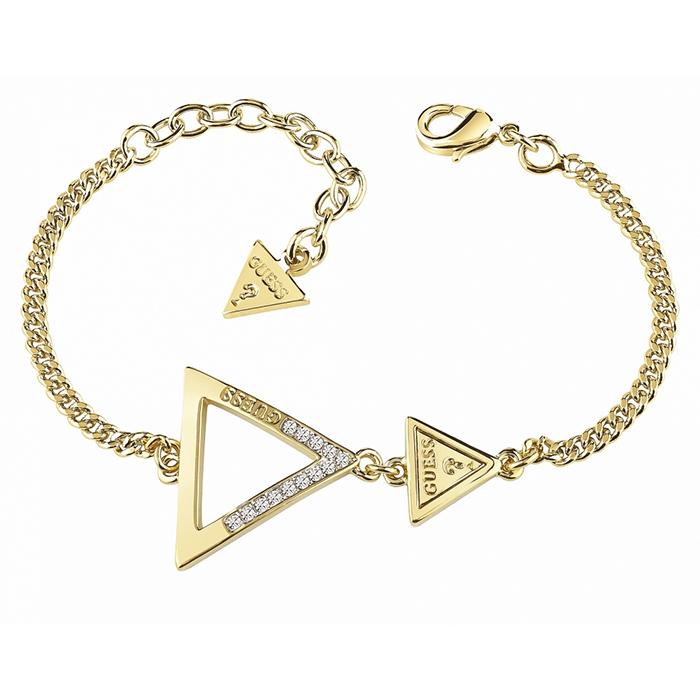 Guess βραχιόλι με τρίγωνα UBB83064-L UBB83064-L Ορείχαλκος