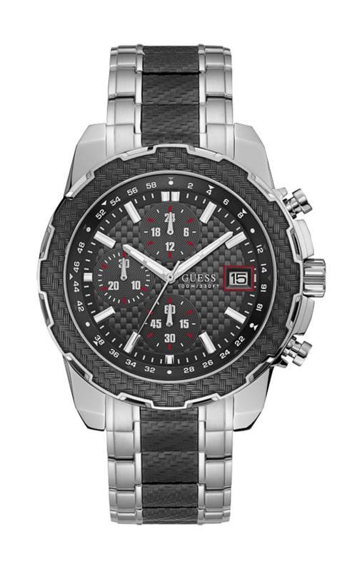 Ρολόι Guess Quartz Chronograph με μπρασελέ W1046G1 W1046G1 Ατσάλι